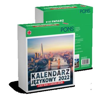 PREMIERA: Kalendarz językowy 2022 do nauki języka angielskiego