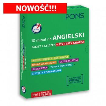 Angielski w 10 minut - pakiet [NOWOŚĆ]